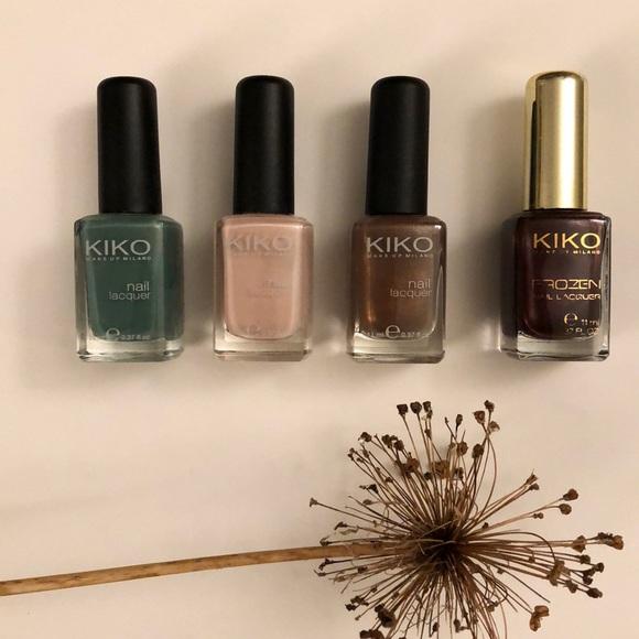 Kiko Other - KIKO Milano nail lacquer - set of 4